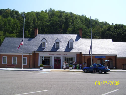 Bristol Rest Area Welcome Center I81 NB Mile Post 3 Brsitol, Virginia Local Phone: 276-722-2269